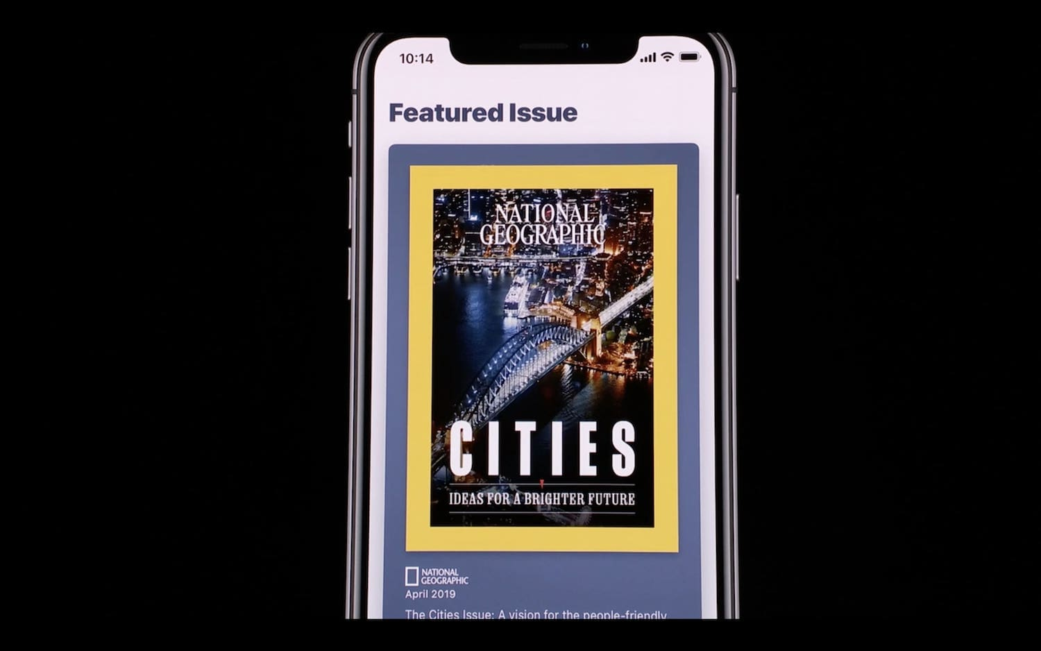 1. Apple News+ with Magazine Subscription 2