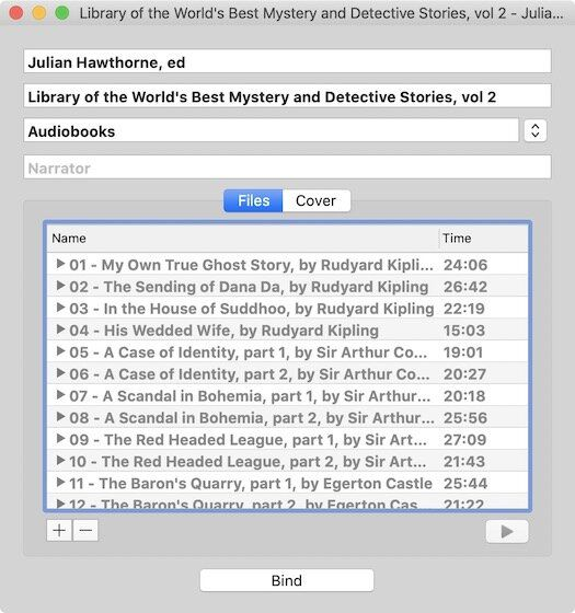 1. Audiobook Binder - Best Free Mac Apps
