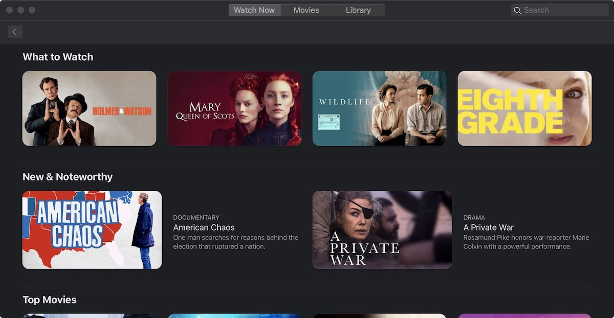 1. Music, Podcasts, and TV apps - macOS Catalina Feature