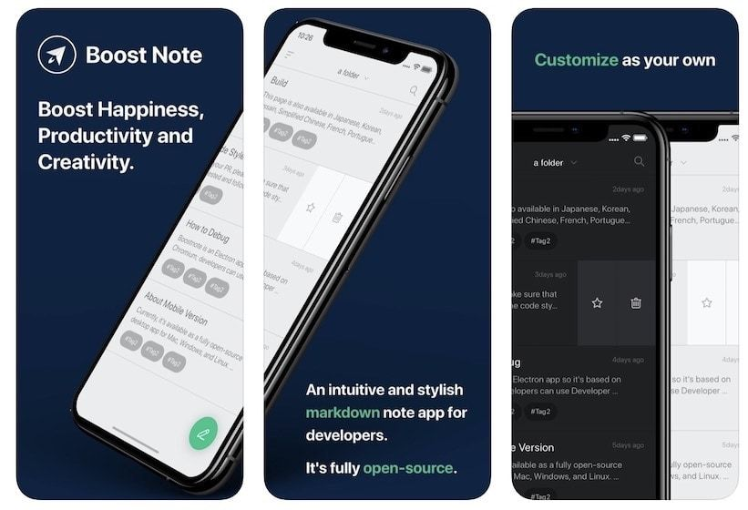 10. Boostnote - Best Note Taking Apps for Programmers