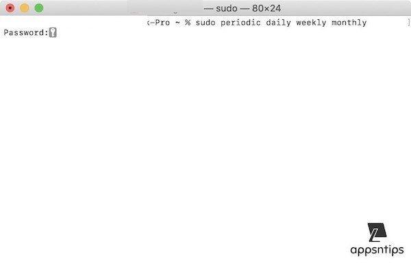 10. Run Maintenance Scripts using Terminal 2
