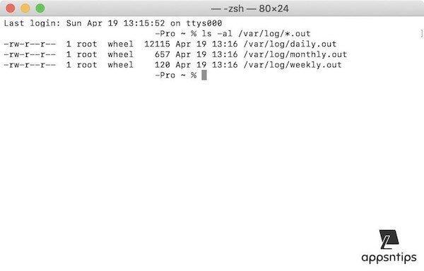 10. Run Maintenance Scripts using Terminal 3