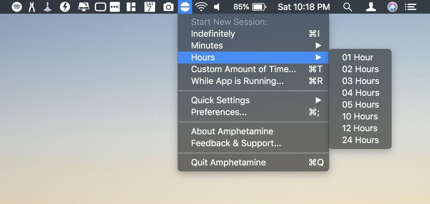 12. Amphetamine - Best Free Mac Apps
