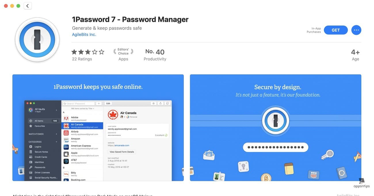 14. Password Manager Extensions for safari