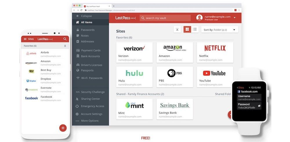 2. LastPass - Best Free Mac Apps