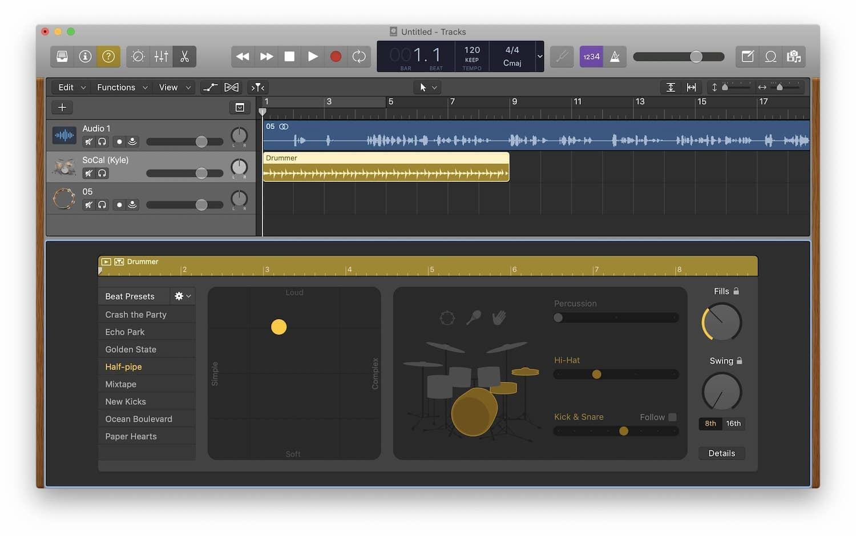 2. Logic Pro X: Best DAW Software for Mac 3