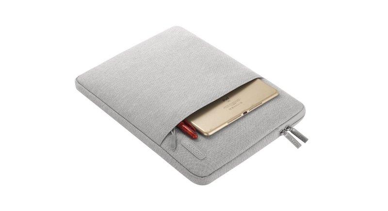 4. MOSISO Water Repellent Laptop Sleeve for MacBook Air -  Best MacBook Air Accessories