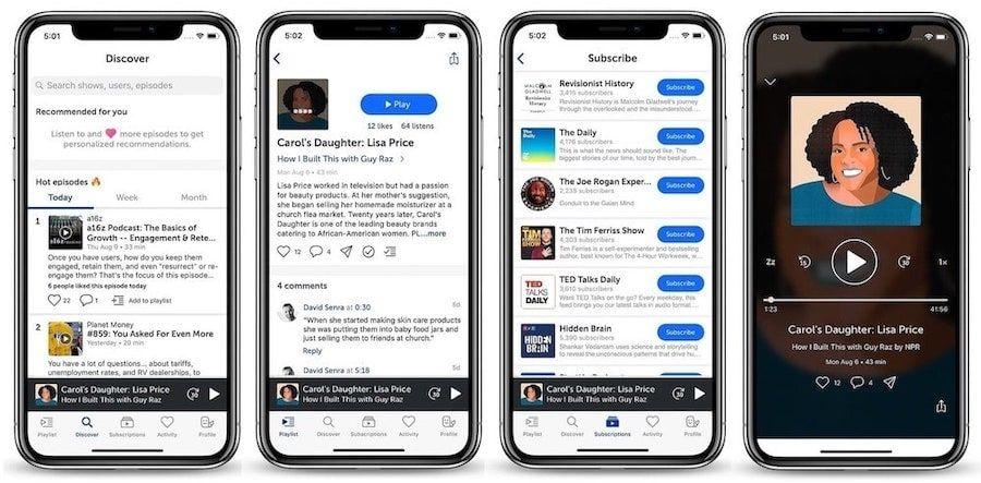 4. Breaker: Podcast App with Social Element