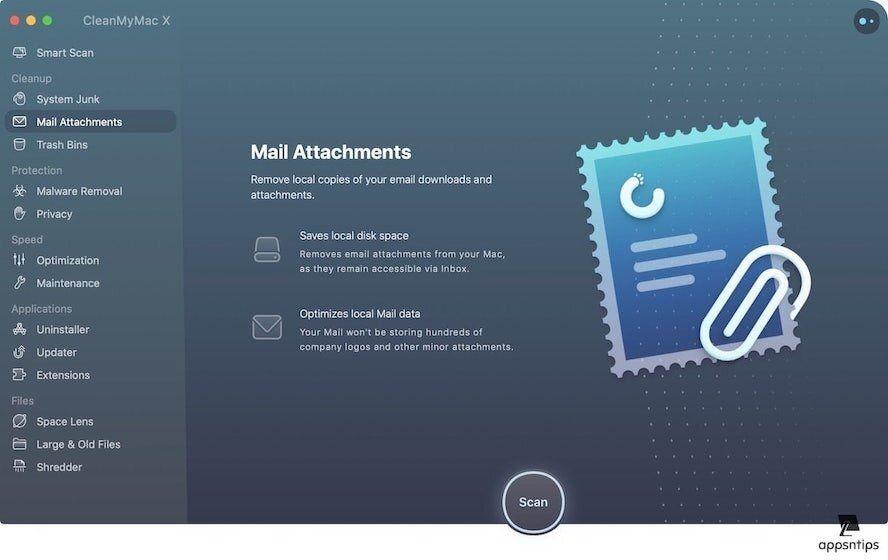 4. Delete Mail Attachments