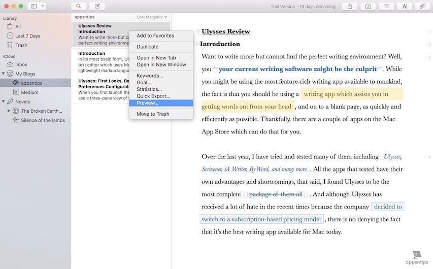 4. Live Preview of Markdown Text 1