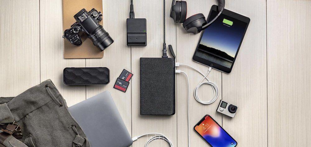 6. Mophie USB-C XXL BLK Powerstation -  Best MacBook Pro Accessories