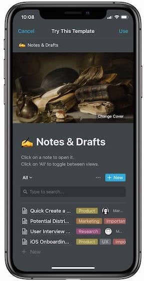 5. Notion- Best All-in-One Note Taking App 2