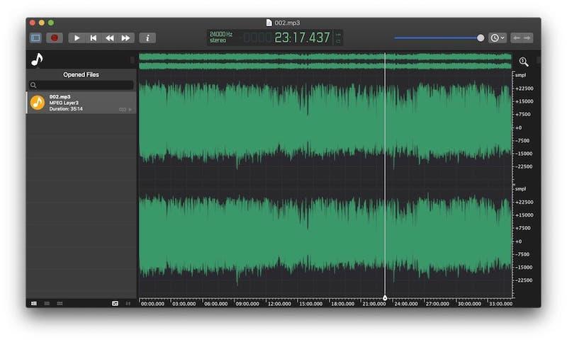 5. ocenaudio: Best Audio Editing Software for Beginners 2