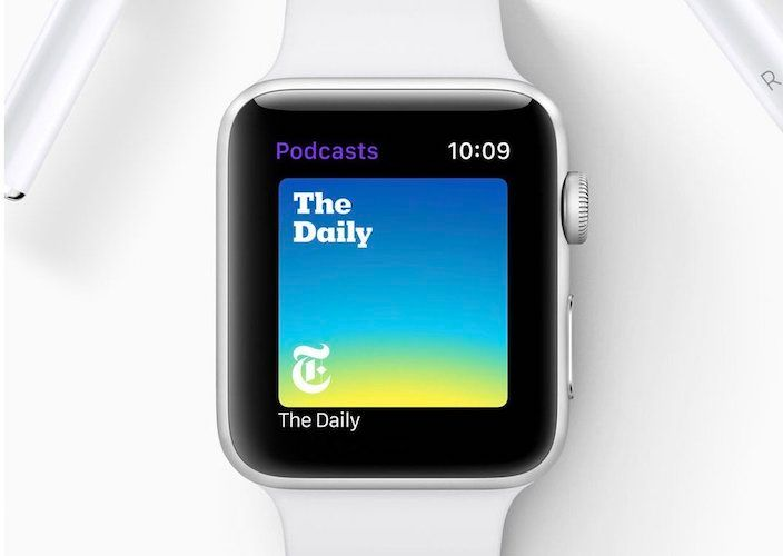 6. Podcast App Coming to watchOS 5