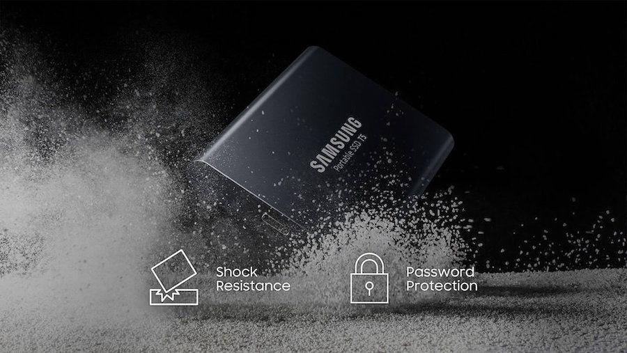 11. Samsung T5 SSDs
