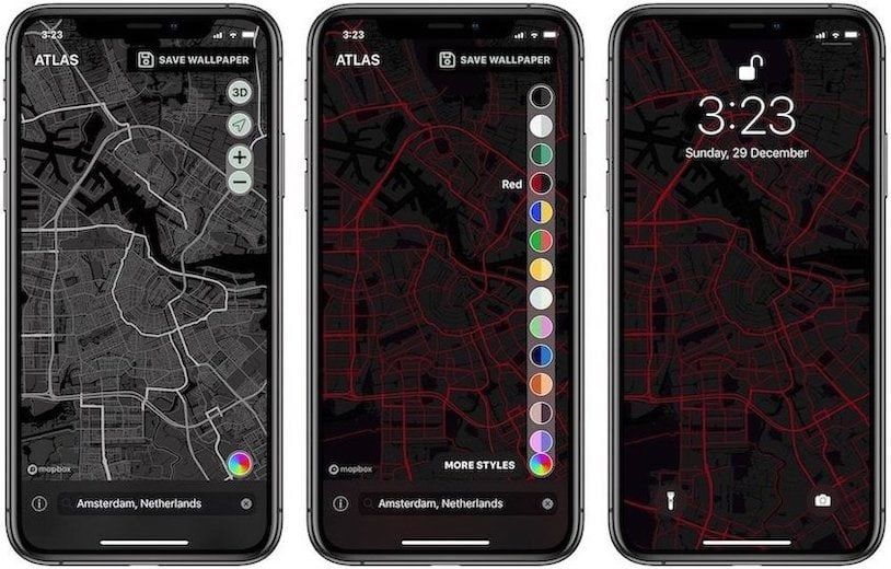 7. Atlas Wallpaper - Best Wallpaper Apps for iPhone