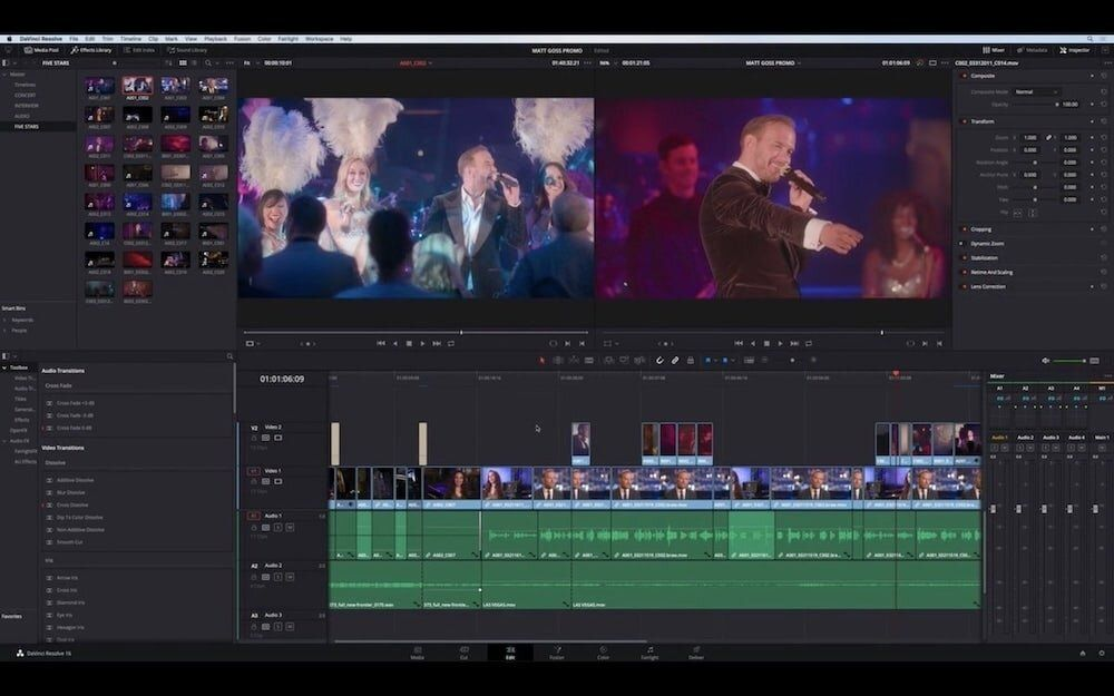 7. DaVinci Resolve - Best Free Video Editing App for Mac