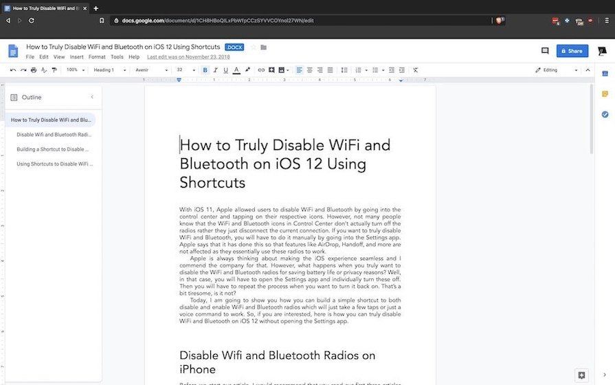 7. Google Docs - Best Real-time Collaboration Writing App