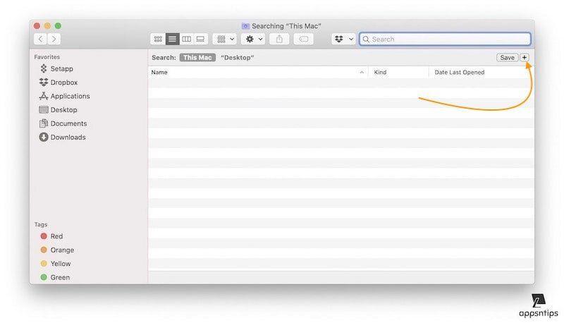 Creating smart folder to find duplicates