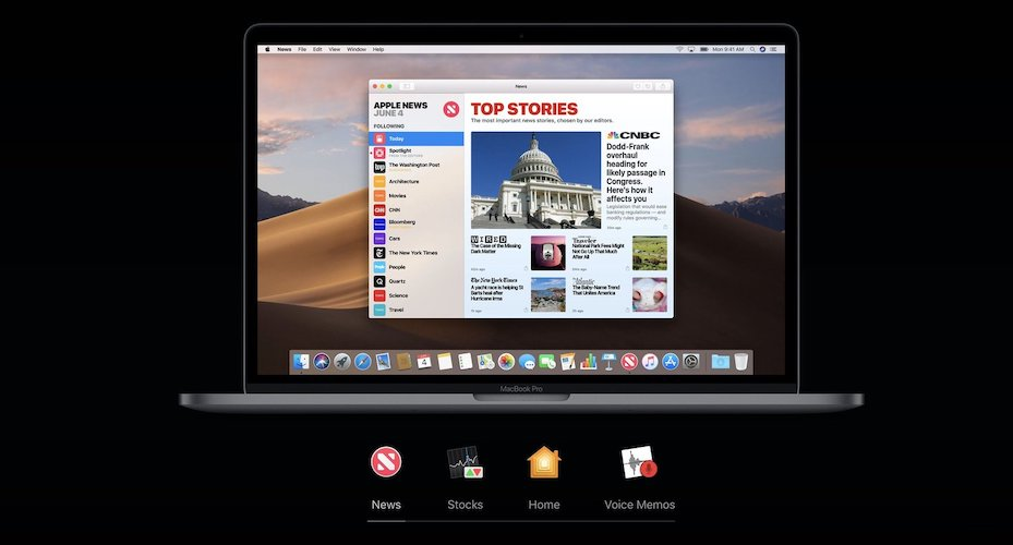7. Stock iOS Apps for Mac