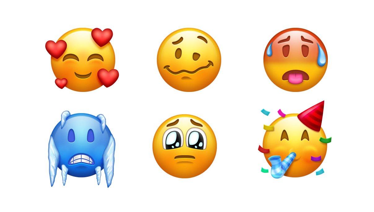 70 New Emojis