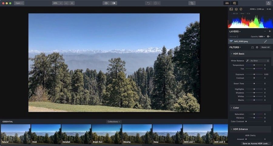 8. AuroraHDR 2019 - Best HDR Photo Editor for Mac