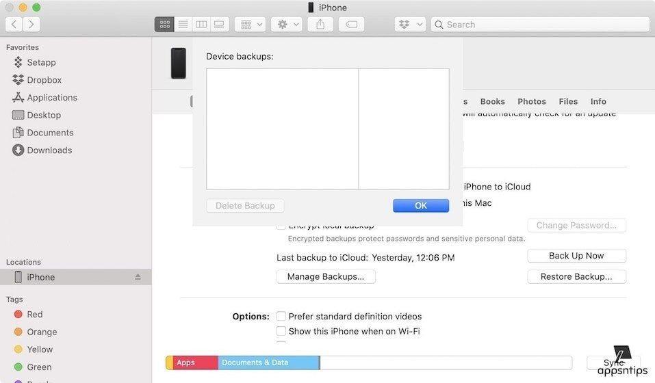 8. Delete Redundant Backups 2