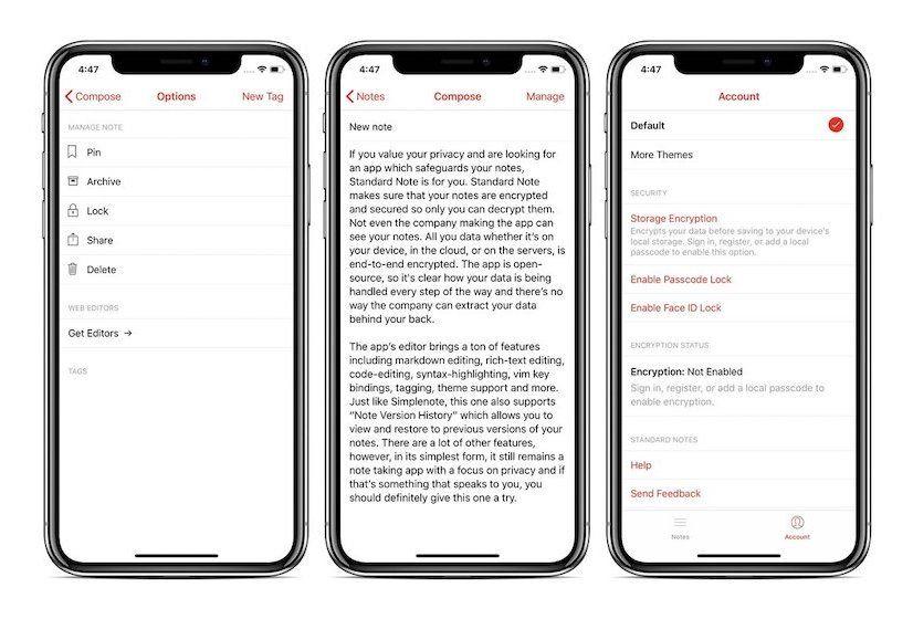 8. Standard Note - Best Encrypted Note-taking App