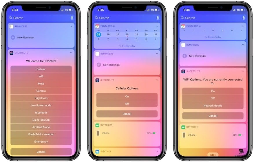 8. UControl V2 - Best Siri Shortcuts