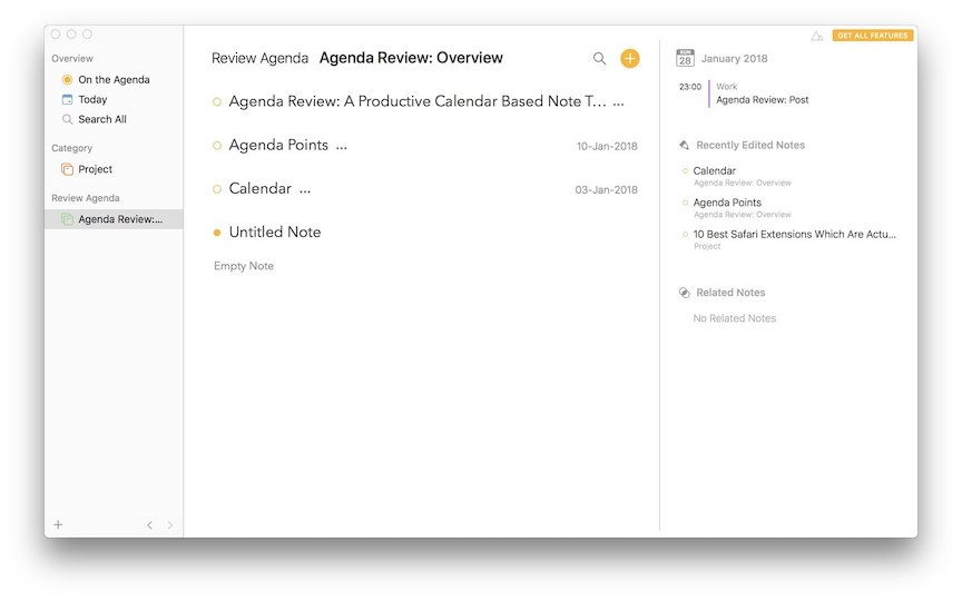 Agenda Review: Overview 1