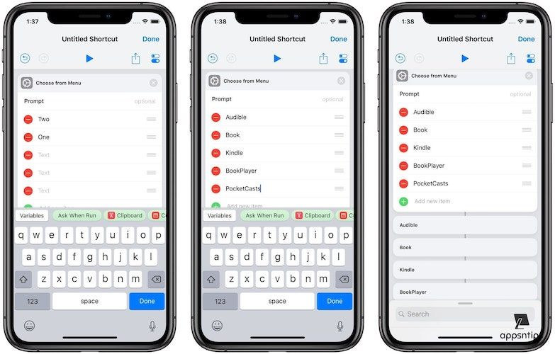Create an App Launcher Shortcut Using the Shortcuts App 4