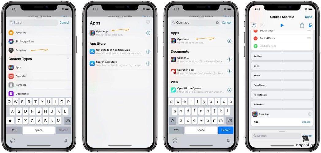 Create an App Launcher Shortcut Using the Shortcuts App 5