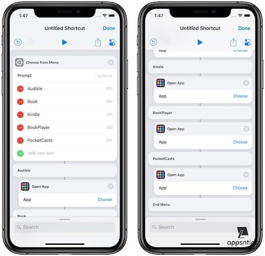 Create an App Launcher Shortcut Using the Shortcuts App 6