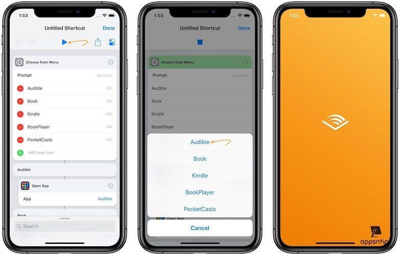 Create an App Launcher Shortcut Using the Shortcuts App 8
