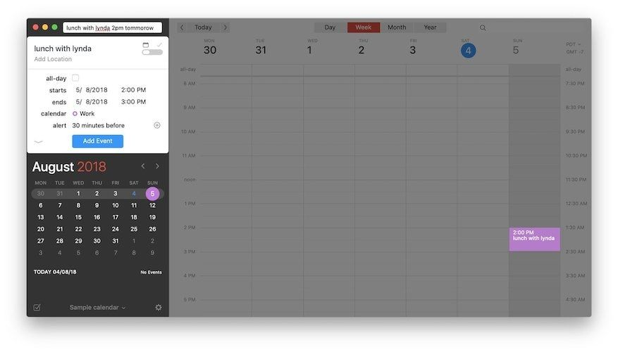 Creating Events and Reminders 1