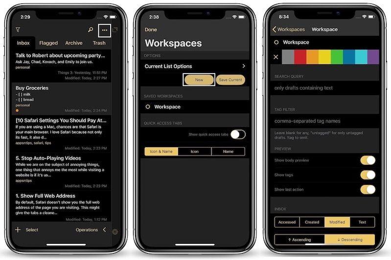 4. Using Workspaces 1