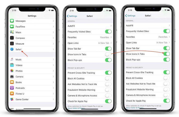 Enabling Favicon in Safari in iOS 12