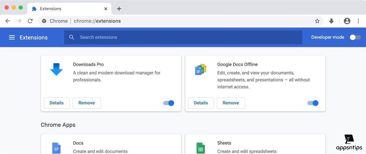 Get Safari Like Download Manager on Google Chrome 4
