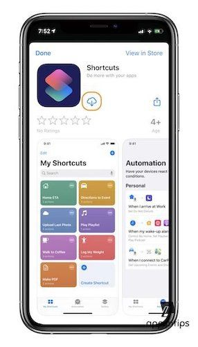 Install Shortcuts App in iOS 13 After Deleting It 2