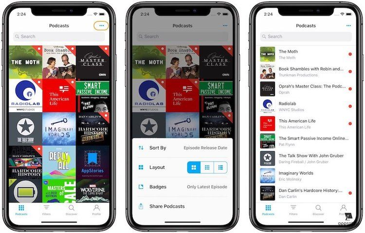 Pocket Casts 7 Review: The New Podcasts Tab