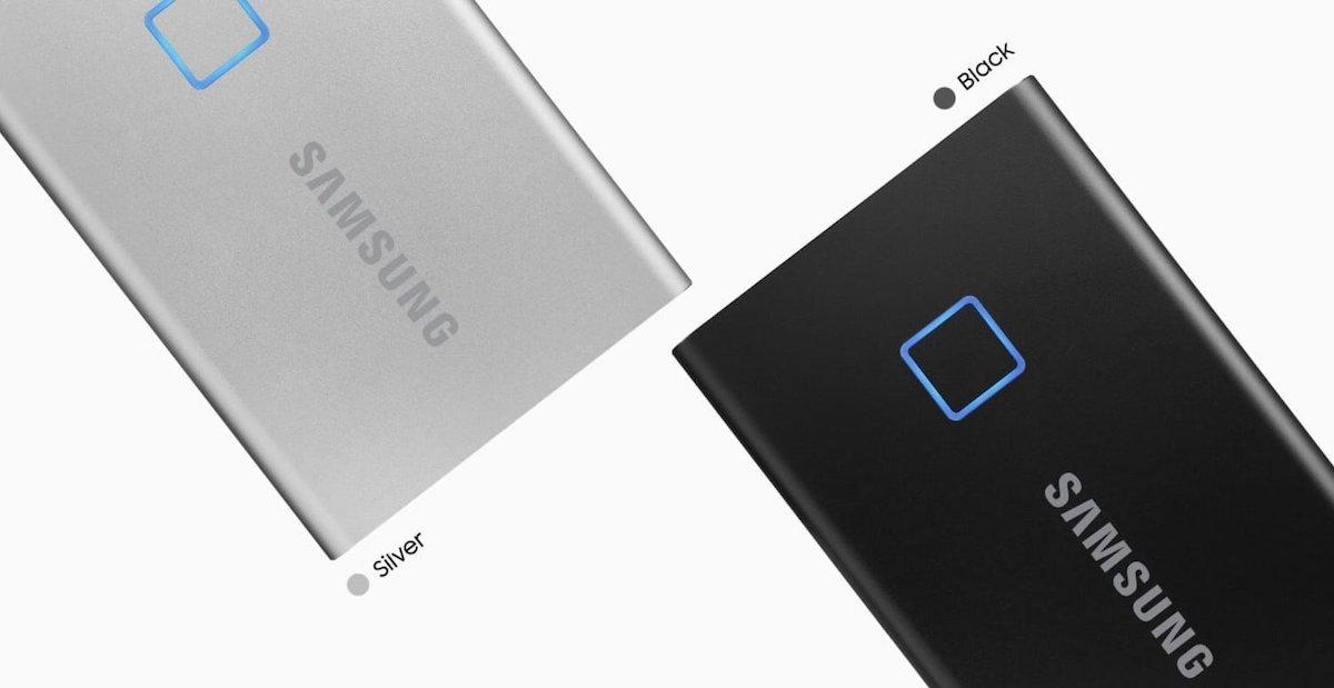 11. Samsung T7 SSDs -  Best MacBook Air Accessories