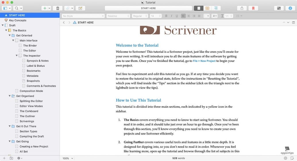 Scrivener vs Ulysses - Documents Management - Scrivener