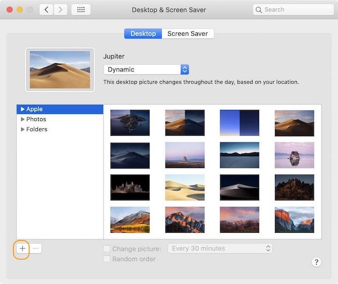 Set Third-party Dynamic Wallpapers on macOS Mojave / Catalina 5
