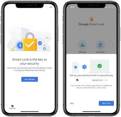 Steps for Enabling iPhone's Built-in Security Key as 2FA on Google 2