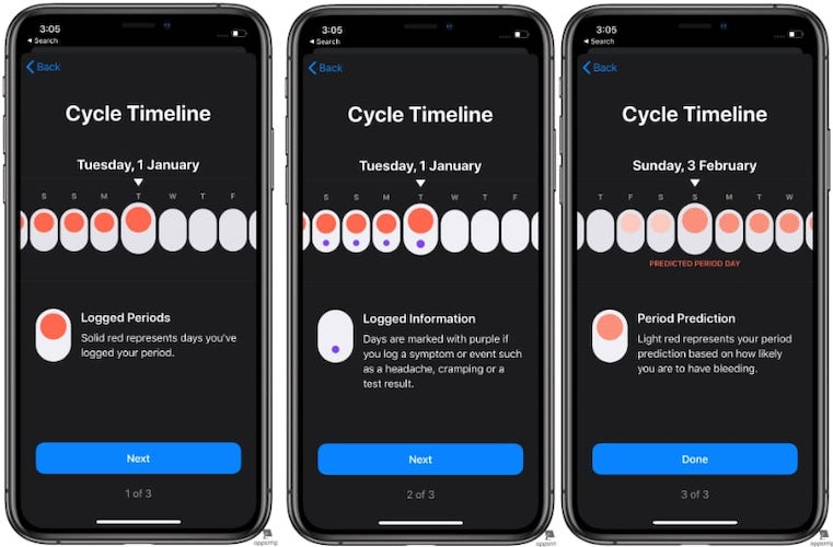 Steps to Set up Period Tracking in Apple Health in iOS 13 - 6