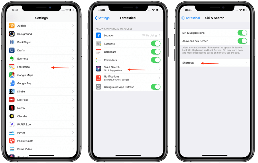 Support for Siri Shortcuts 1