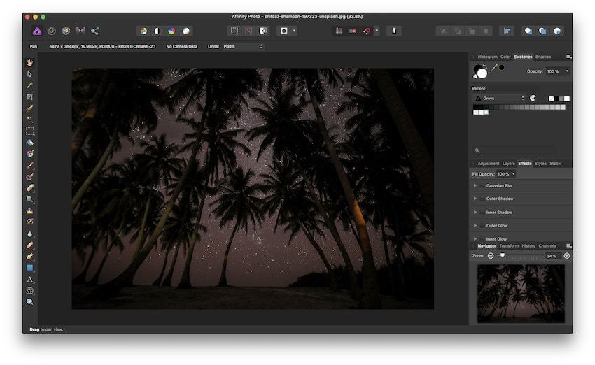 5. Best Photo Editing App For Mac: Affinity Photo