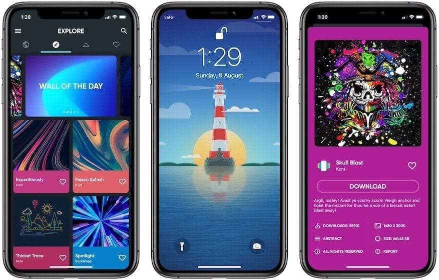 Backdrops - Wallpapers for iPhone