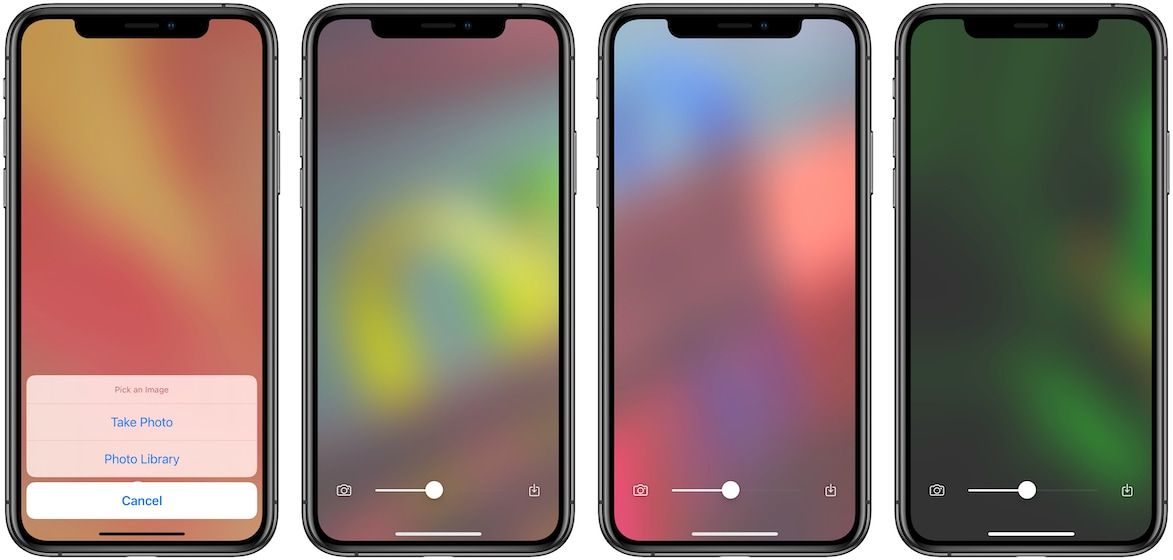 Blear - Gradient wallpaper for iPhone