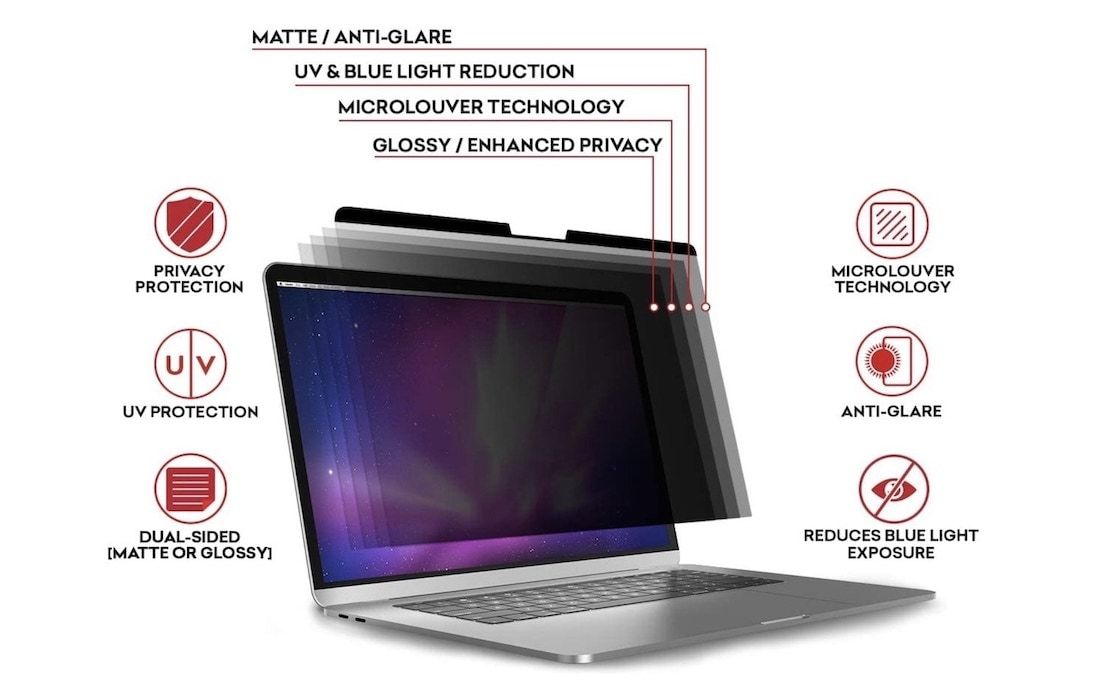 SightPro Magnetic Privacy Screen for MacBook Pro